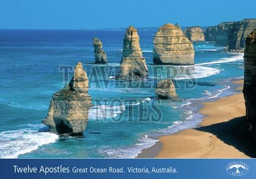 Twelve Apostles Post Card front