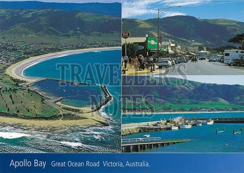 Apollo Bay Scenery Post Card front