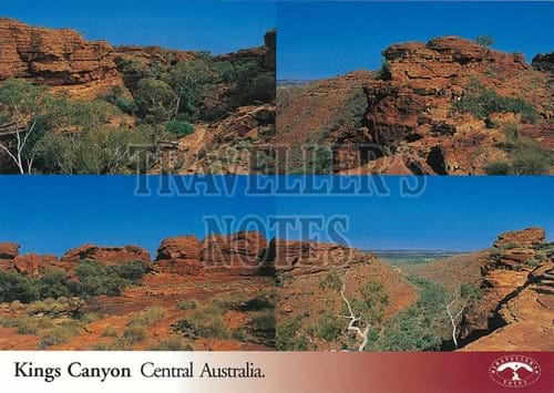 Kings Canyon Post Card front