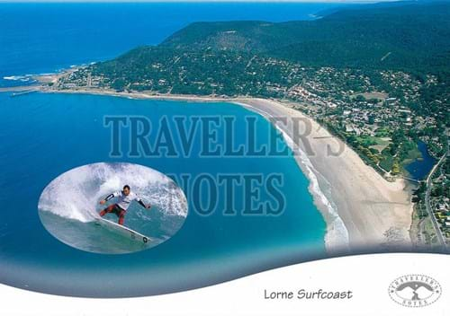 Lorne Surfcoast Post Card front