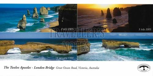 Great Ocean Road Post Card front
