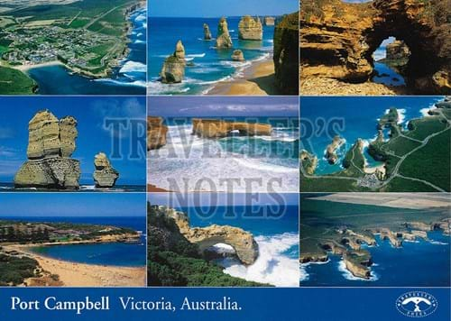 Port Campbell Post Card Front