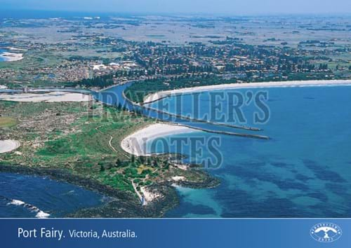Port Fairy Post Card front
