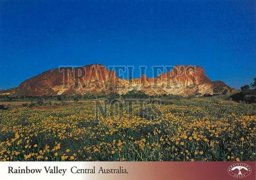 Rainbow Valley Post Card front