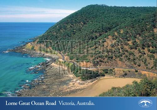 Lorne Great Ocean Road Post Card front